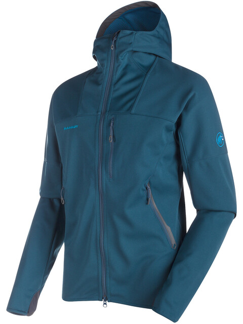 Mammut Ultimate Jas Heren blauw